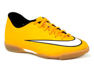 Chuteira Nike Indoor / Futsal Amarelo JR MERCURIAL 651643