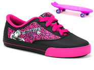 Tenis Grendene Monster High Preto-Rosa MONSTER HIGH 21238