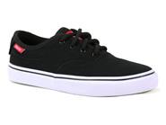 Tenis Freeday Skate Preto Branco RISE GIRLS HIGH40905