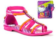 Sandalia Grendene Hello Kitty Rosa Laranja 21226