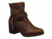 Bota Dmoon Cano Curto Chocolate 840.70