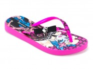 Chinelo Grendene Dedo Monster High Rosa 25583