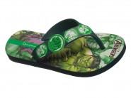 Chinelo Grendene Dedo Avengers Verde Hulk 25956