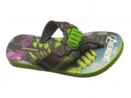 Chinelo Grendene Dedo Verde Hulk AVENGERS 26160