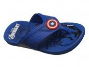 Chinelo Grendene Dedo Capitão America Avengers Super Flop Azul Azul 21549