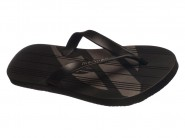 Chinelo Grendene Dedo Mormaii Tropical Preto Preto Prata TROPICAL 10591