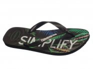 Chinelo Havaianas Dedo Preto TOP TROPICAL 4.140