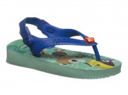 Chinelo Havaianas Dedo Nemo Havaianas Ice Blue BABY CUTIES 4.137105