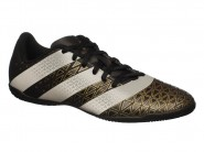 Chuteira Adidas Indoor / Futsal Preto Verde ARTILHEIRA IN H68338