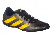 Chuteira Adidas Indoor Futsal Preto Amarelo ARTILHEIRA IN H68298