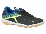 Chuteira Dray Indoor / Futsal Preto Azul Verde 350.10.15.83