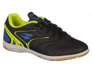 Chuteira Dray Indoor / Futsal Preto Azul 354