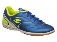 Chuteira Dray Indoor / Futsal Azul Verde menino.354