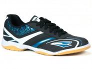 Chuteira Dray Indoor / Futsal Preto Azul 352.10.15