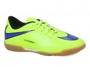 Chuteira Nike Indoor / Futsal Amarelo Azul JR HYPERVENON 599842