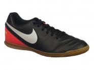 Chuteira Nike Indoor / Futsal Preto Laranja TIEMPOX RIO 3 819234