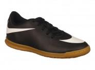 Chuteira Nike Indoor / Futsal Preto Branco BRAVATA IC 768922