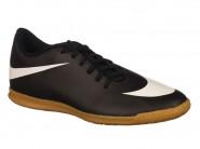 Chuteira Nike Bravata Indoor / Futsal Preto Branco BRAVATA IC 768924