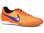 Chuteira Nike Indoor / Futsal Laranja Marinho MAGISTA OLA 651550