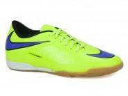 Chuteira Nike Indoor / Futsal Amarelo Roxo HYPERVENON 599810
