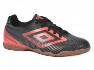 Chuteira Umbro Indoor / Futsal Pto-Coral-Chumbo	 SPEED II JR 0F82026
