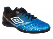 Chuteira Umbro Indoor / Futsal Azul Preto FIFTY 72062
