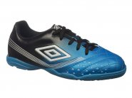Chuteira Umbro Indoor / Futsal Azul Preto FIFTY JR 0F82033