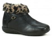 Pantufa Courope Sapato/bota C/lã Preto 2740