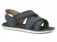 Sandalia Grendene Cartago Bege Azul 11044