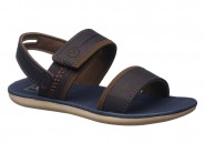 Sandalia Grendene Cartago Cinza Azul Marrom 11119