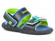 Sandalia Grendene Peppa George Preto Verde Azul 21324