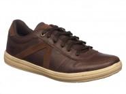 Sapatenis Strikwear Com Cadarço Café 721705