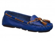Sapato Bottero Mocassim Azul Royal 258101
