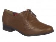 Sapato Bottero Oxford Conhaque 249001