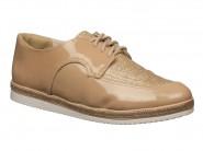 Sapato Comfortflex Oxford Avelã 1764304
