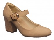 Sapato Facinelli Boneca Bege 61901