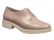 Sapato Grendene Oxford Zaxy Nude 17507