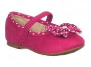 Sapato Molekinha Mocassim Pink 2106.136