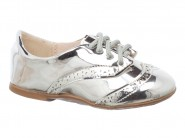 Sapato Molekinha Oxford Prata 2106.157