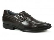 Sapato Pegada Marrom Cinza 22801
