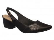 Sapato Piccadilly Chanel Preto 744031