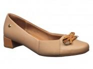 Sapato Usaflex Rolha Camel V4609/01
