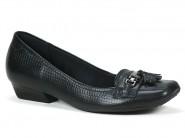 Sapato Usaflex Mocassim Preto R2307.01
