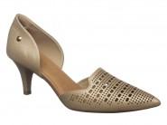 Sapato Usaflex Social Safiano Prata J6452/10