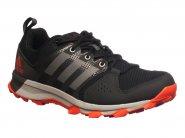 Tenis Adidas Running Preto Laranja GALAXY TRAIL BB3482