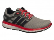 Tenis Adidas Running Cinza Vermelho ENERGY CLOUD BA7526