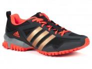 Tenis Adidas Running Preto Vermelho ARESTA D96379