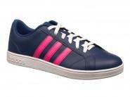 Tenis Adidas Skate Azul Pink ADVANTAGE W B74572