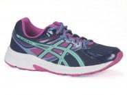 Tenis Asics Running Marinho-Azul-Pink CONTEND 3 A T058A
