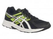 Tenis Asics Running Preto Amarelo CONTEND 3 A T008A